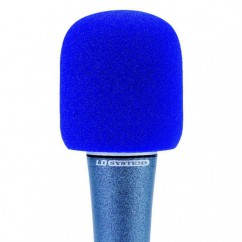 LD Systems - Windscreen for Microphone blue