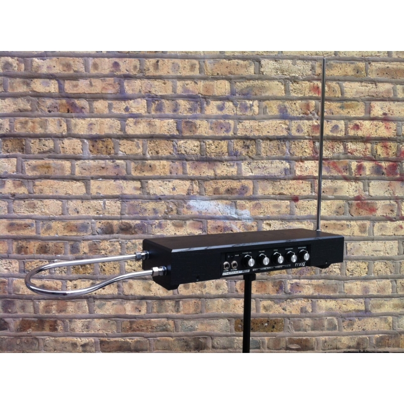 moog etherwave theremin plus black for sale at global audio store synthesizer. Black Bedroom Furniture Sets. Home Design Ideas