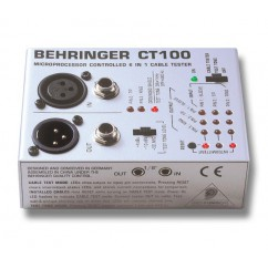 BEHRINGER - CABLE TESTER CT100