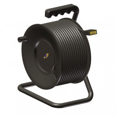 Adam Hall by Procab KCCRM650 - Cable Reel with S-VGA Cable 25 Meter