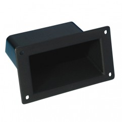 Adam Hall - Insert Handle in Matt Black Plastic