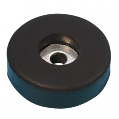 Adam Hall - Rubber foot 38mm x 10mm with steel insert