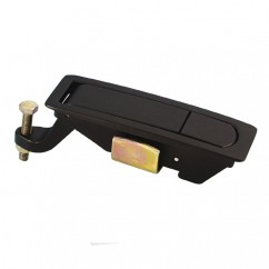 Adam Hall - Lever latch for service door black