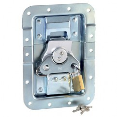 Adam Hall - Padlocking system large for existing butterfly latches