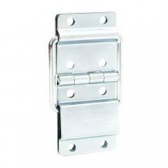 Adam Hall - Heavy Duty Strut Hinge chrome plated