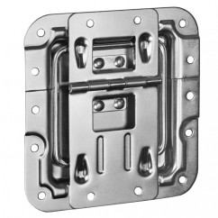 Adam Hall - Lidstay with hinge, cranked, with rivet protection design