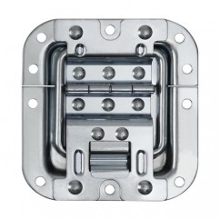 Adam Hall - Heavy duty hinge with lid stay in medium recessed dish