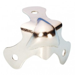 Adam Hall - Small knuckle corner nickel plated