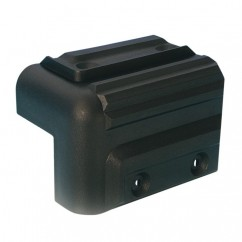 Adam Hall - Plastic stackable corner - black