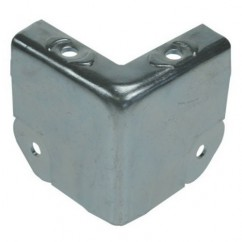 Adam Hall - Corner brace large zinc plated