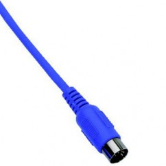 Adam Hall - MIDI Cable Economy 6 m blue