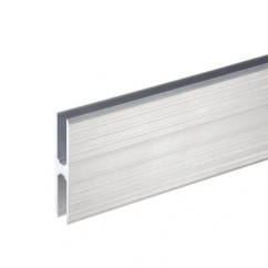 Adam Hall - Aluminium H-Section heavy duty Version for Joining 10 mm Panels