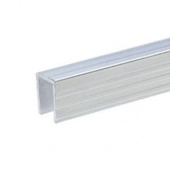 Adam Hall - Aluminium Capping Channel for 9.5 mm Dividing Wall