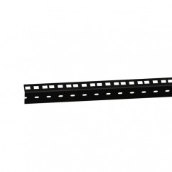 Adam Hall - 61535BLK - Heavy Duty Rack Strip Black 2 mm