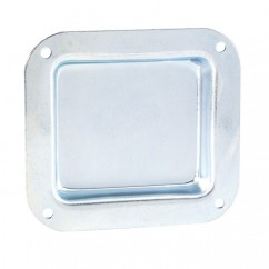 Adam Hall - Castor dish for mounting on the case lid,zinc