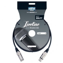 Adam Hall - Microphone Cable Liveline XLR male to XLR female - 3 m