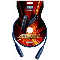 Adam Hall - Microphone Cable Krystal Series OCC XLR male to XLR female - 3 m