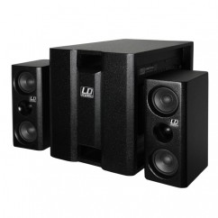 """LD Systems - Compact 8"""" powered Multimedia System"""