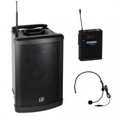 LD Systems - Roadman Portable PA Speaker with Headset