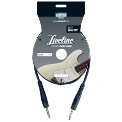 Adam Hall - Instrument Cable Liveline 6.3 mm Jack mono to 6.3 mm Jack mono - 3 m