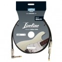 Adam Hall - Instrument Cable Liveline 6.3 mm Jack mono to 6.3 mm angled Jack mono - 6 m