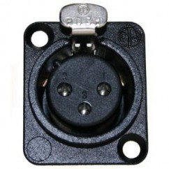 Neutrik - XLR Chassis Connector female black