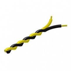 Adam Hall by ProCab Series PR430 - Twisted Installation Cable 2 x 0.25 mm² yellow/black