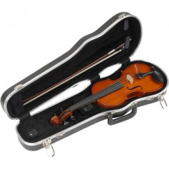 SKB Cases - 1SKB-212 - Violin Case for 1/2 Violin