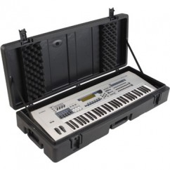 SKB Cases - 1SKB-R4215W - Keyboard Case for 61-Key Keyboards with Wheels