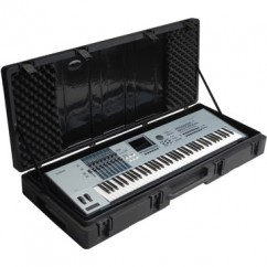 SKB Cases - 1SKB-R5220W - Keyboard Case for 76-Key Keyboards with Wheels