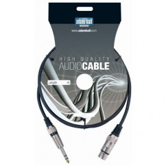 Adam Hall - Microphone Cable XLR female to 6.3 mm Jack stereo - 3 m