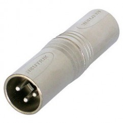 Neutrik - Adapter XLR male to XLR male