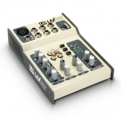 LD Systems - LAX Series - Mixer 5-channel with Phantom Power