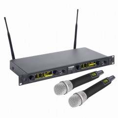 LD Systems - WIN 42 - Wireless Microphone System with 2 x Dynamic Handheld Microphone