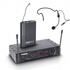LD Systems - Wireless Microphone System with Belt Pack and Headset 16 Channel