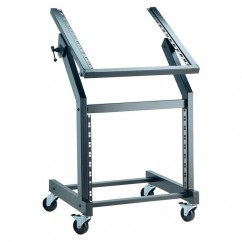 K & M Stands - Rack Stand with Castors