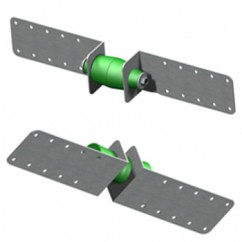 VICOUSTIC - VicVibro RWM2.03 - Anti-vibration wall mountings for partition walls