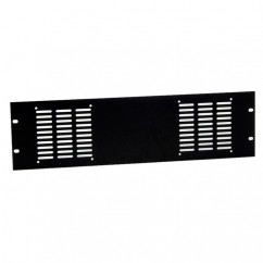 Adam Hall - Rack Panel punched for 2 Fans