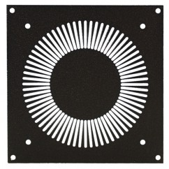 Adam Hall - Mounting Plate for 8762 Axial Fan in Cast Housing