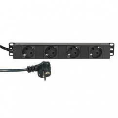 Adam Hall - Compact Power Strip 4 Sockets 30 cm