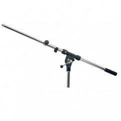 K & M Stands - Boom Arm nickel-plated