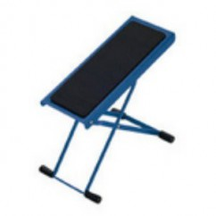K & M Stands - Footrest blue