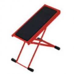 K & M Stands - Footrest red