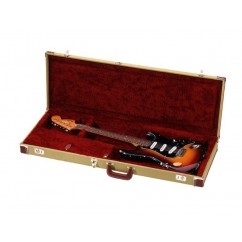 Adam Hall - Tweed Electric Case for Telecaster/Stratocaster