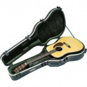 "SKB Cases - Deluxe Guitar Case for ""Dreadnought"" Acoustic Guitars"