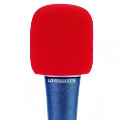 LD Systems - Windscreen for Microphone red