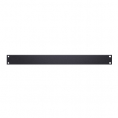 Adam Hall - U-shaped Rack Panel 1 U steel