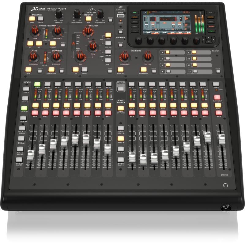 Behringer x32 producer en vente chez global audio store console numerique - Console numerique behringer ...