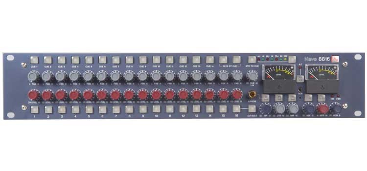 neve 8816 analog summing mixer en vente chez global audio store console analogique. Black Bedroom Furniture Sets. Home Design Ideas