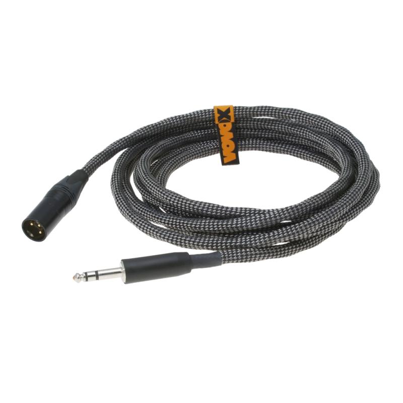 VOVOX - SONORUS DIRECT S - 6 3311 - Audio Balanced Cable Jack TRS / XLR  Male - 3 50 m